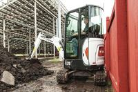 Compact Excavator for Tight Spaces