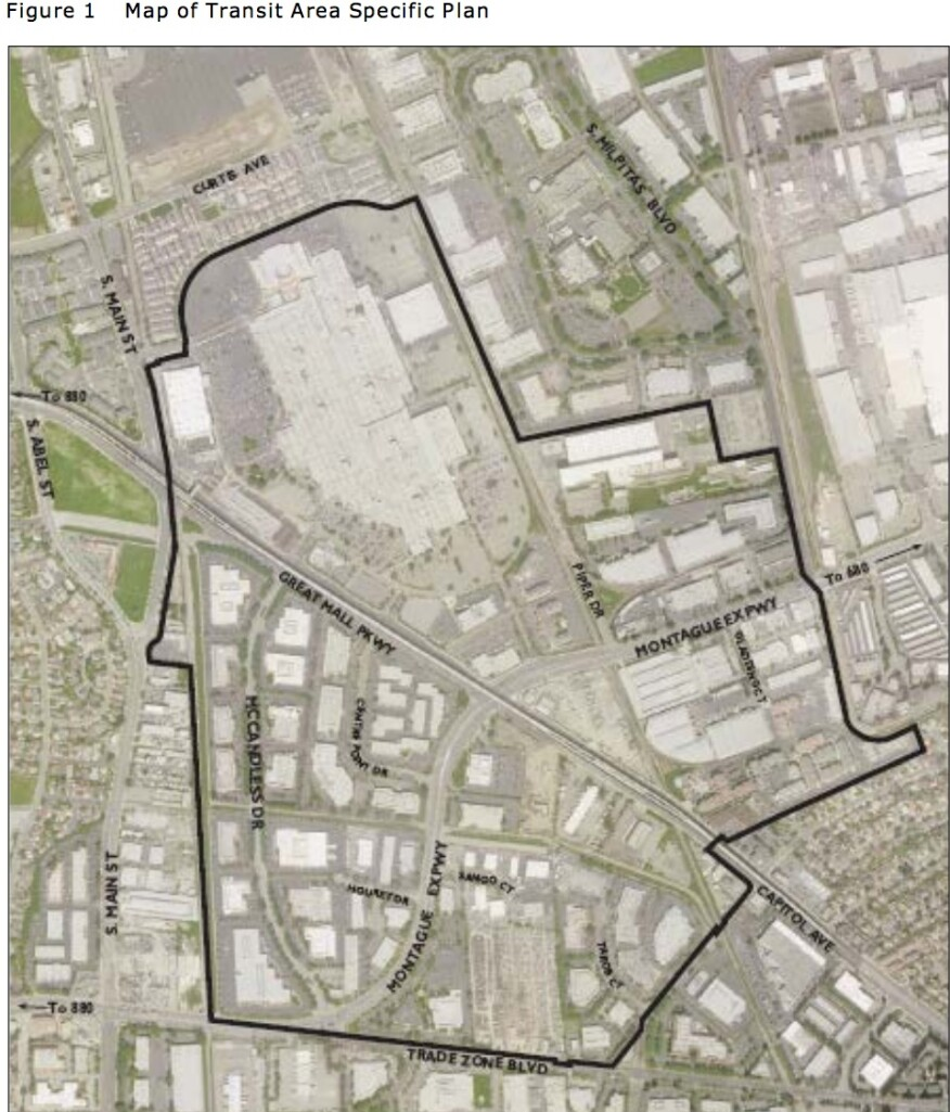 Milpitas, Calif. transit-area specific plan is an industrial-to-residential conversion.