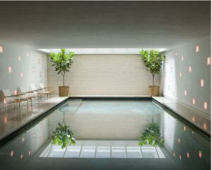 Award winning pool in Manhattan