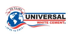 Universal White Cement Co. Logo