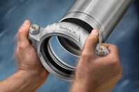 Install couplings quickly