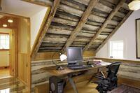 wheatland farms log cabin, waterford, va.