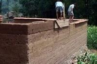 Rammed Earth: Cheap, Tough, and Green