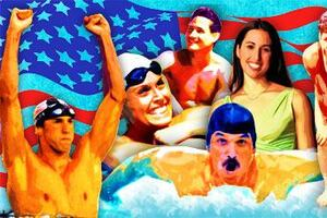 Olympics: Six Olympians - Promoting Pools and Spas