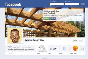 Lumber Salesman Helps Deck Builders With Social Media