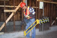 BCIT Institute of Technology Jackhammer Support Arm
