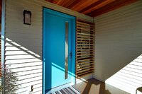 A Water Barrier for Contemporary Doors