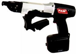 Gun ItTHE PC-12 CORDLESS AUTOFEED SCREW gun is designed to make drywall installation easy, the manufacturer says. It is lightweight and has an ergonomic design that allows users to make quick work out of large projects, the company adds. The tool runs 1-inch to 2-inch fasteners, with 600 to 900 screws per charge. Cost: $239. PAM Fastening Technology. 704-394-3141. www.pamfast.com. Circle no. 102.