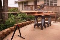 Andy's Paulk-Inspired Miter Saw Stand