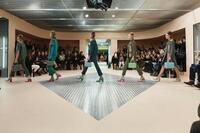 OMA Creates a Catwalk Funhouse for Prada's Fall Shows