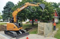 Excavator has Extended Run Times