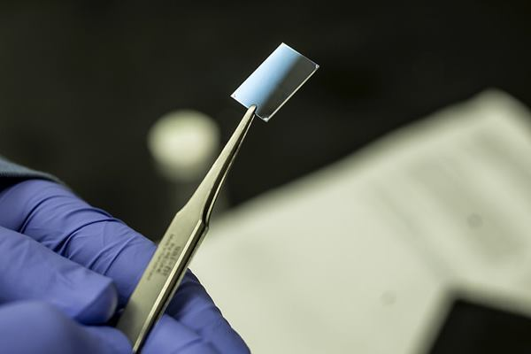 A novel hybrid plastic developed by researchers at the University of Michigan can conduct heat.