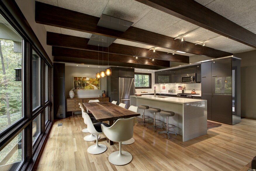 Mid century modern contest honorable mentions for Haus kitchens
