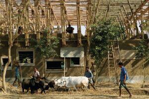 Anna Heringer and Eike Roswag, METI—Handmade School, Rudrapur, Bangladesh (2006)
