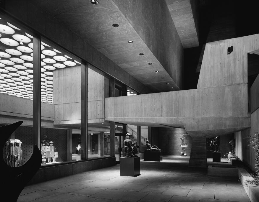 An ode to breuer 39 s brutalist whitney as the museum relocates to its new d - Marcel breuer architecture ...