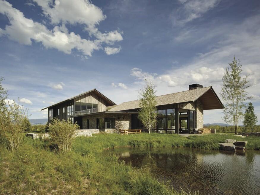 Shooting Star Residence, Carney Logan Burke Architects, Jackson, Wyo.