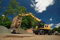 Wheeled Excavators from Caterpillar