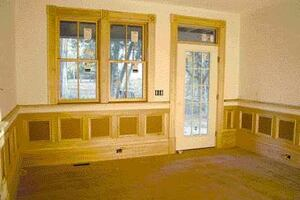 On the Job: Simple Panel Wainscot