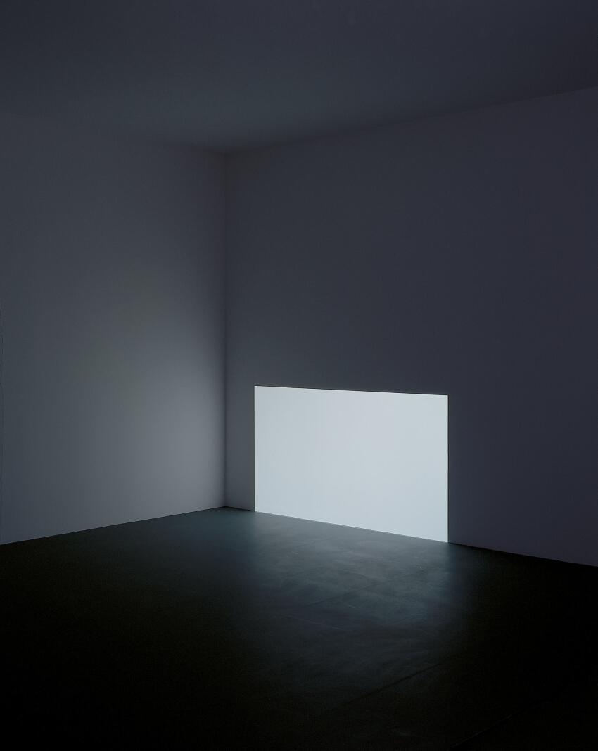 Prado (White), 1967  Projected light, dimensions variable  Collection of Kyung-Lim Lee Turrell  © James Turrell