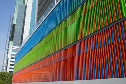 Chromatic structural Facade for the Kenex Plaza office building