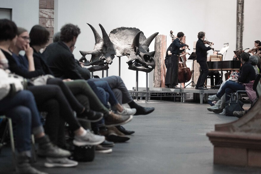 Vivaldi and Saariaho at the Senckenberg Museum of Natural History