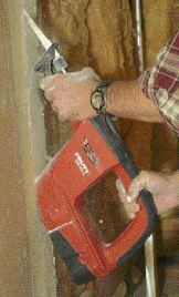 With the blade reversed, HIlti's WSR 900-PE and WSR 650-A cut at a flatter angle than other models the author has used.