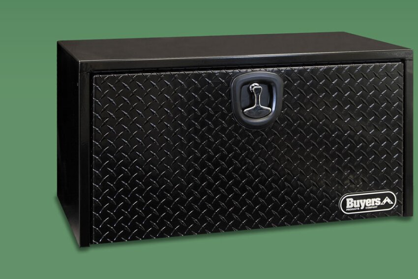 Tough Tread: Buyers Products Powder Coated Aluminum Tool Boxes