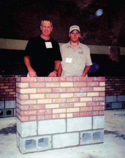 Schutjer has been a mason for over 30 years and an instructor for 14 years.