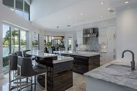 "Naples Home Gets Modern and Masculine ""Miami style"" Makeover"