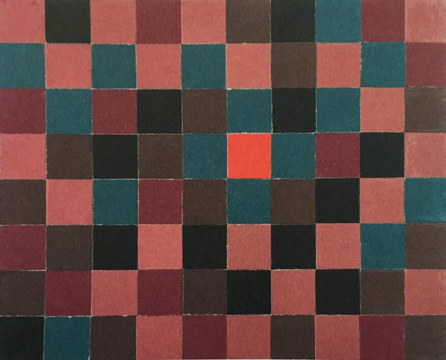Louis Kahn's Mosaic Construction Test