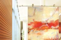 Contemporary ArtDoors, Sargam Griffin