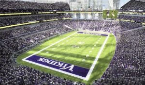 A rendering of the interior of the new Vikings stadium, released on Monday May 13, 2013. (Courtesy Minnesota Vikings)