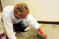 Grouting Ceramic Tile