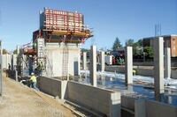 Formwork Company Manages University Expansion