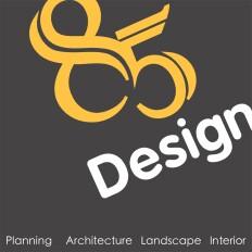 85 Design Architect Logo