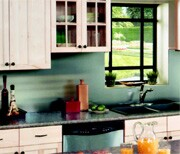Eclectic combinations make for unique kitchens.