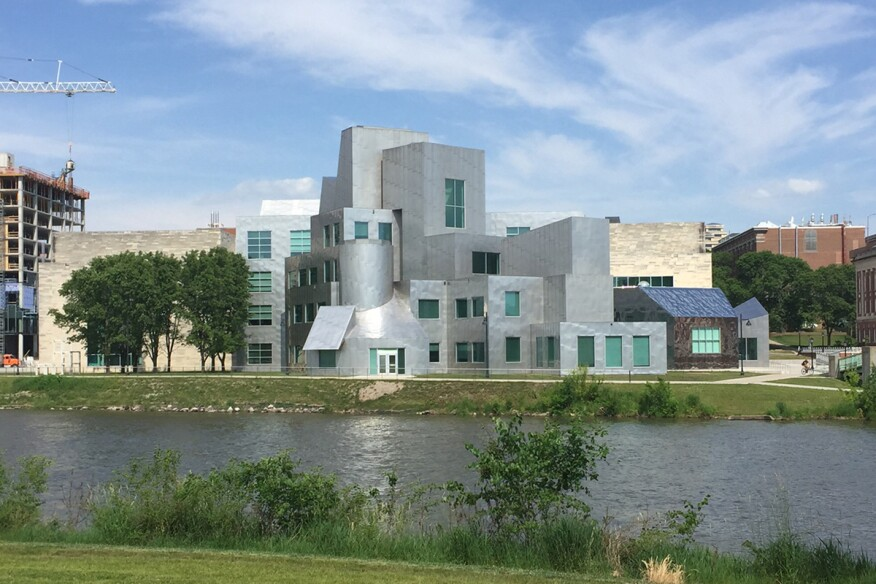 Iowa Advanced Technology Laboratories at the University of Iowa, by Frank O. Gehry Architects