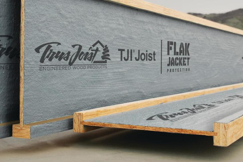 Give 'em Flak: Weyerhaeuser Trus Joist TJI Joists with Flak Jacket Protection