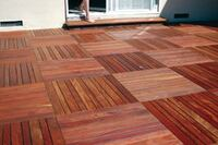 FSC-Certified Hardwood Decking From EARTHSOURCE