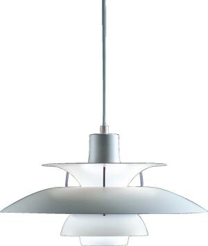 """louis poulsen lighting  This manufacturer's brand of Scandinavian minimalism has been a hit with architects for many years. Always searching for light fixtures that follow through on the architecture, our readers consistently turn to this lighting company for such iconic pieces as the PH5 pendant (above) and the PH Artichoke, both by architect Poul Henningsen.  """"[louis poulsen's nyhavn copper wall-mount] fixture has a classic sense of design and proportion, combined with the wonderful color of copper.""""—Nils Finne, AIA, Finne Architects, Seattle  """"[the saturn ceiling fixture] is contemporary, gives off a great light, and creates a tremendous streetscape."""" —Paul Volpe, AIA, City Architecture, Cleveland"""