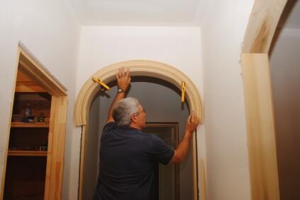 Installing Arched Casing Jlc Online Molding Millwork