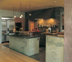 The contractor's role in residential concrete has moved far beyond the foundation and into areas such as concrete countertops and decorative stamping.