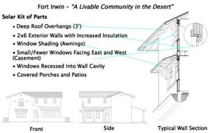 Torti Gallas created interchangeable facades that could be mixed and matched to accommodate each home's solar orientation and relation to other houses.