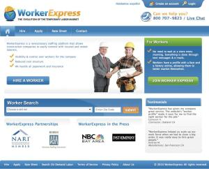 Worker Express screens and hires tradespeople for jobs in the construction industry.