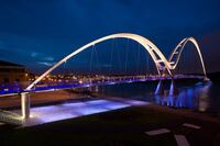 2011 AL Design Awards: Infinity Bridge, Stockton-on-Tees, England