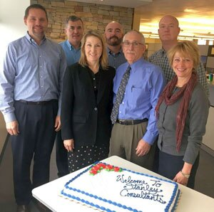 From left, Dan Bender, Ken Cable, Marvinetta Hartwig, John Forni, Mike Hunzinger, David Dyer, and Gayle Roberts.