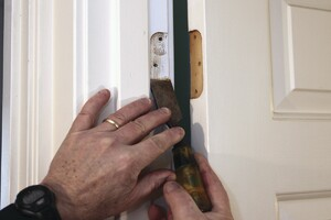 Adjusting a Prehung Door