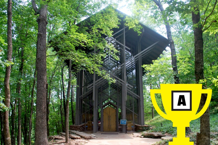 Thorncrown Chapel Arch Madness 2015 champion