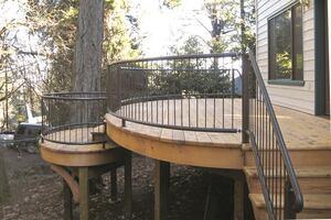 Building an Elliptical Deck