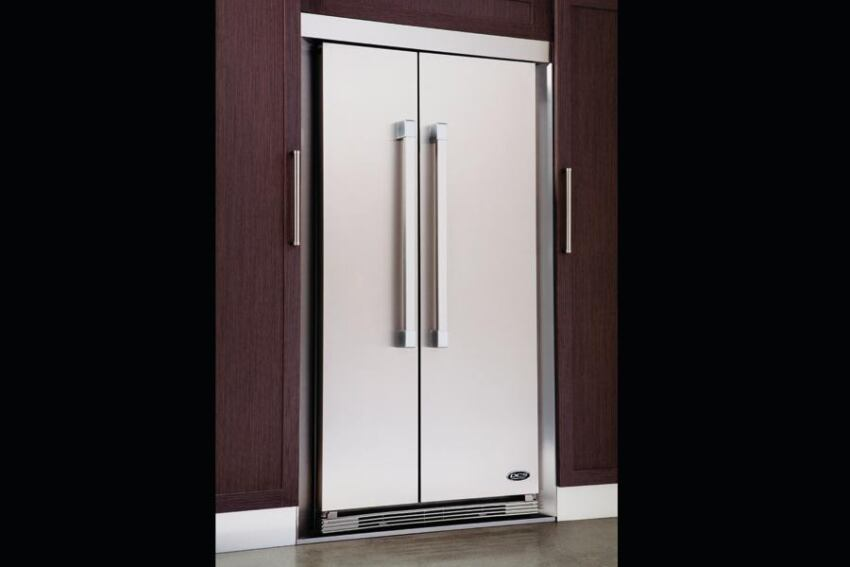 36-inch DCS Side-by-Side Refrigerator by Fisher & Paykel